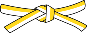 Judo - Cinto Branco - Amarelo
