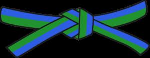 Judo - Cinto Verde - Azul